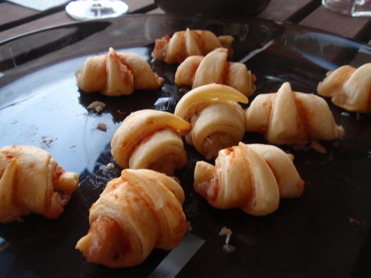 Mini croissants fait maison pour l'apéro
