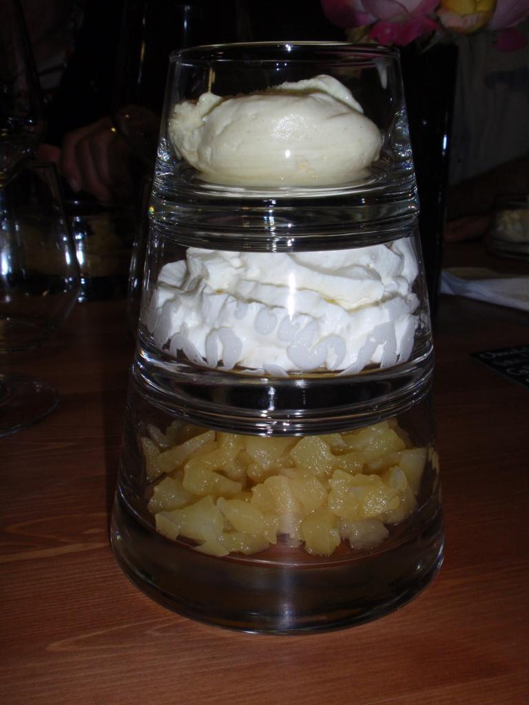 Pyramide de desserts